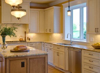 Tuscan Inspired Kitchen Renovation Ann Arbor